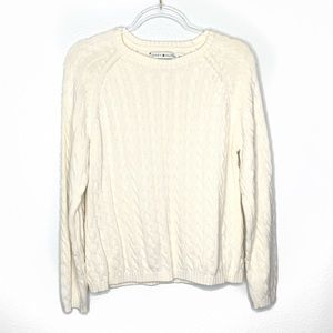 💕Tommy Hilfiger cable knit sweater